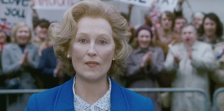 The Iron Lady, La Dama de Hierro, Meryl Streep