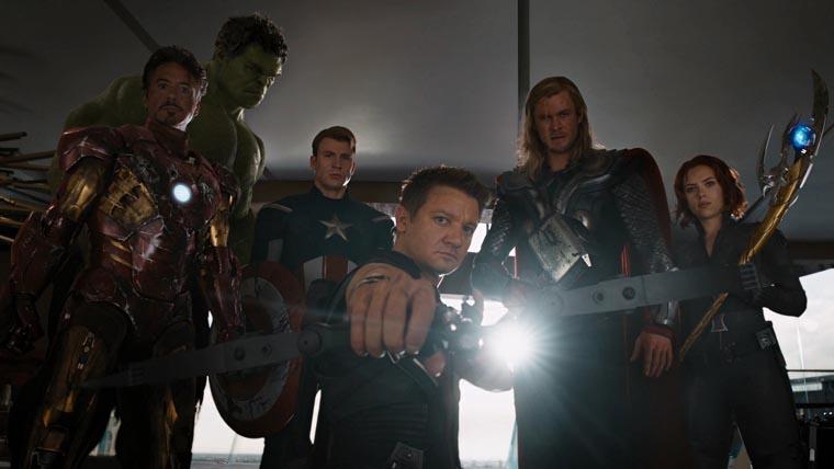 The Avengers, Los Vengadores, 2012