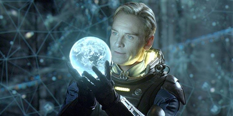 Prometheus, Michael Fassbender