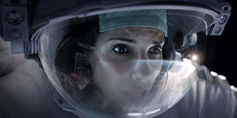 Gravity, Alfonso Cuarón, Sandra Bullock
