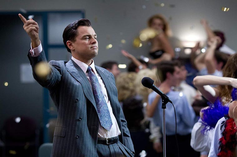 The Wolf of Wall Street, Leonardo DiCaprio, Martin Scorsese