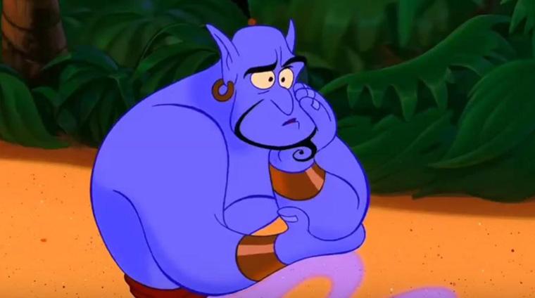 Aladdin, Genies