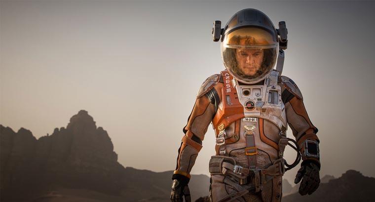 The Martian, Ridley Scott, Matt Damon
