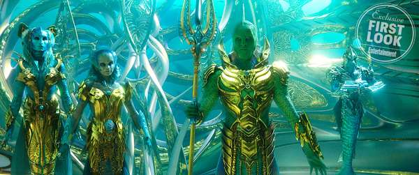 Aquaman: primer vistazo al Fisherman King