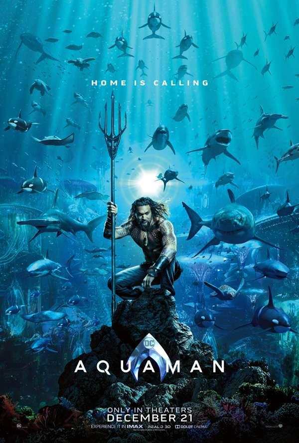 Aquaman: primer póster para lo nuevo del Universo DC