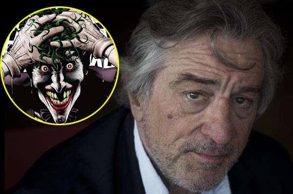 Robert De Niro Joker