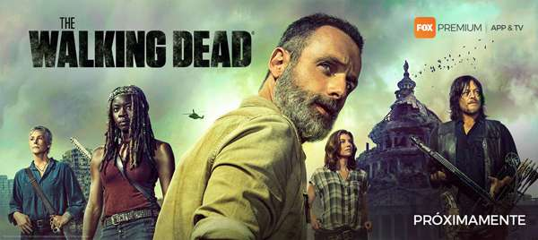 The Walking Dead: banner de la 9º temporada