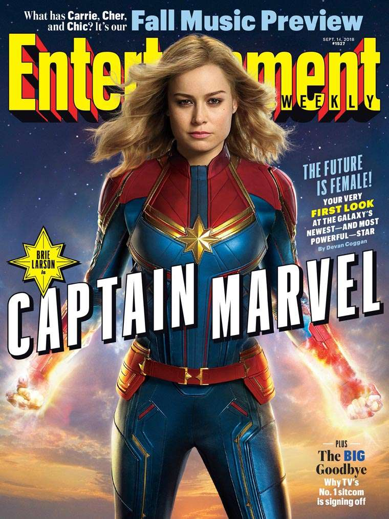 Captain Marvel: primer vistazo oficial
