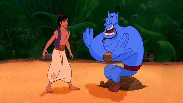Aladdin, poster