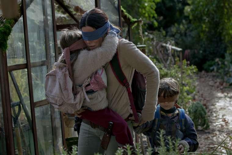 Bird Box, Sandra Bullock, Netflix
