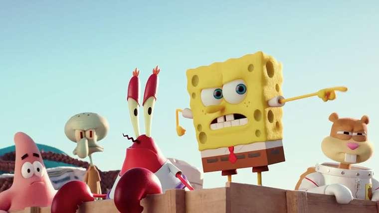 Bob Esponja, SpongeBob SquarePants Movie: It's a Wonderful Sponge