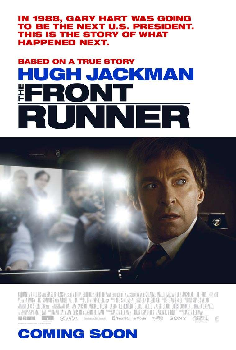 Hugh Jackman, The Front Runner