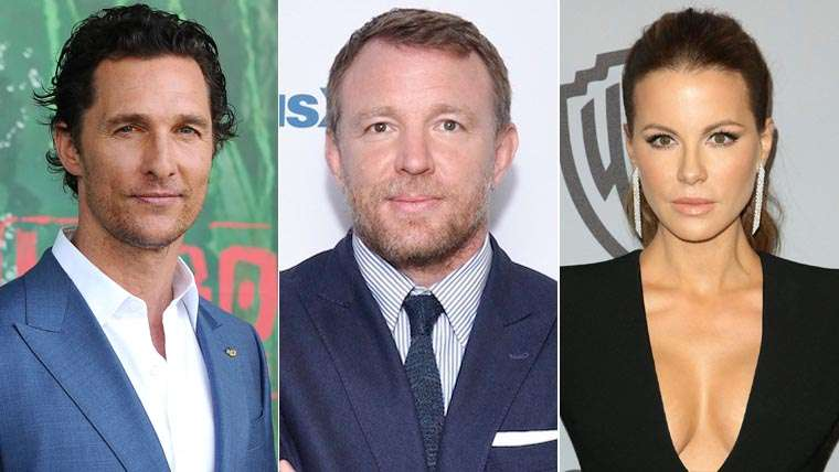 Matthew McConaughey, Kate Beckinsale, Guy Ritchie, Toff Guys