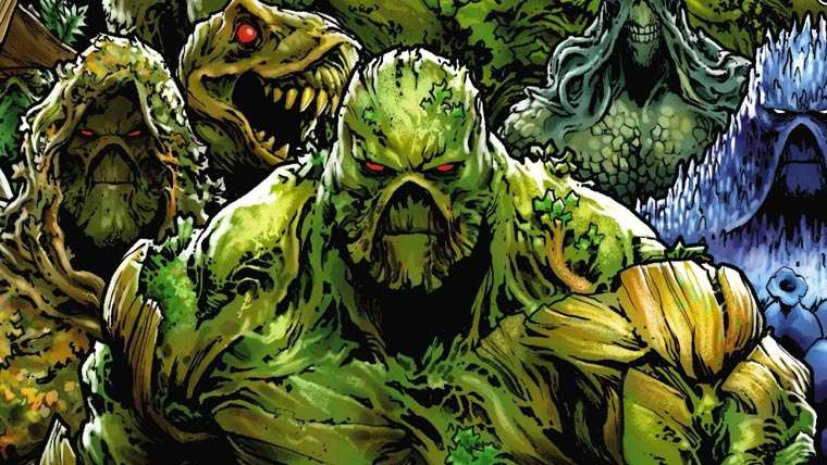 Andy Bean, Swamp Thing