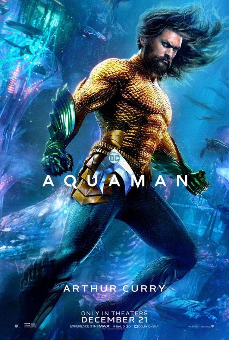 Aquaman, posters