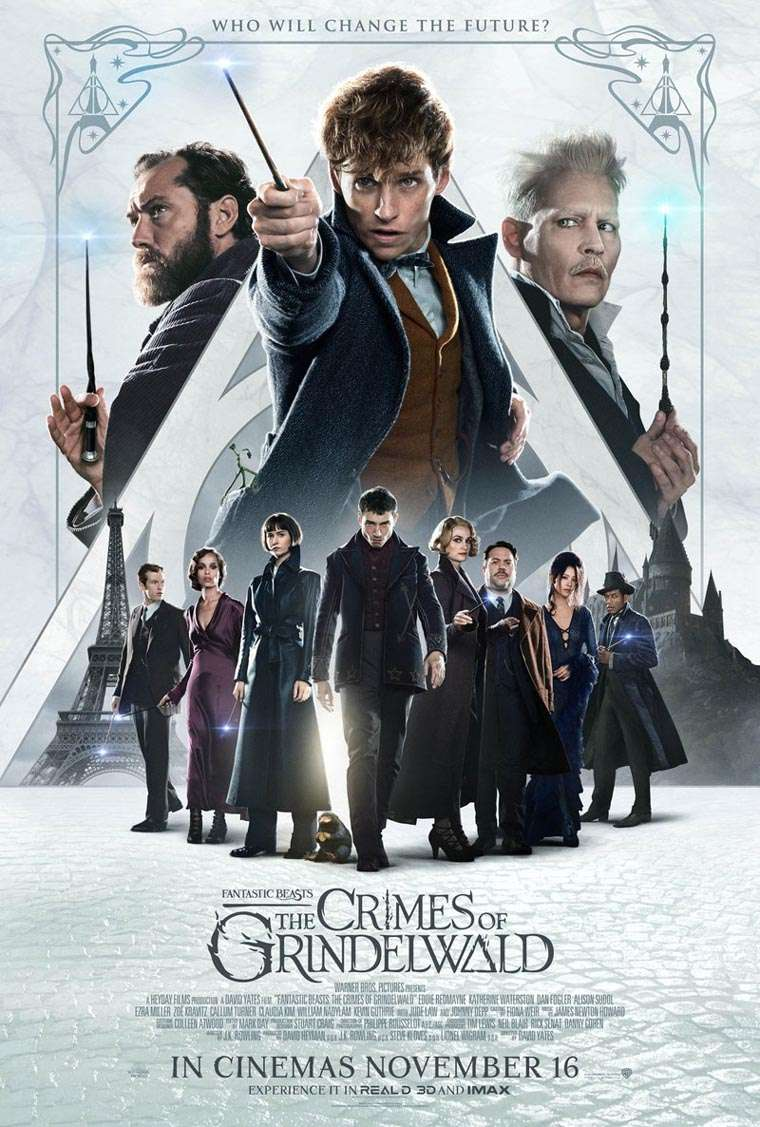 Fantastic Beasts: The Crimes of Grindelwald, IMAX