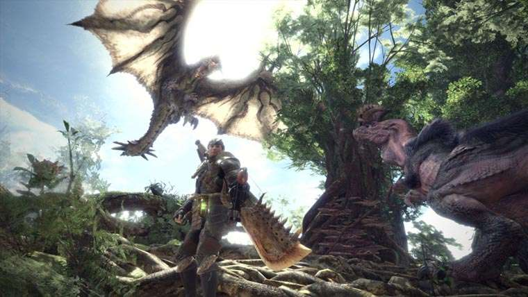 Monster Hunter, first look, imagenes