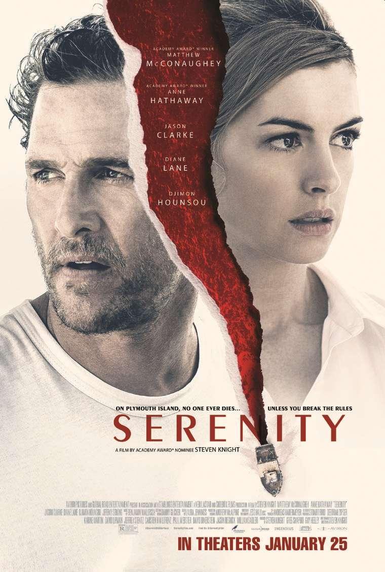 Serenity, Matthew McConaughey, Anne Hathaway