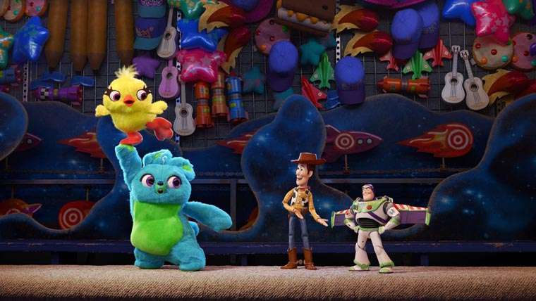 Toy Story 4, Ducky y Bunny