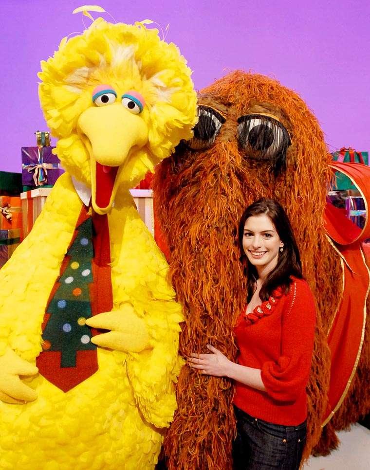 Anne Hathaway, Sesame Street