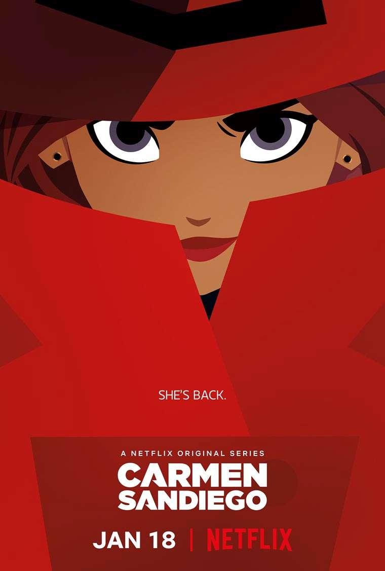 Carmen Sandiego, imagenes