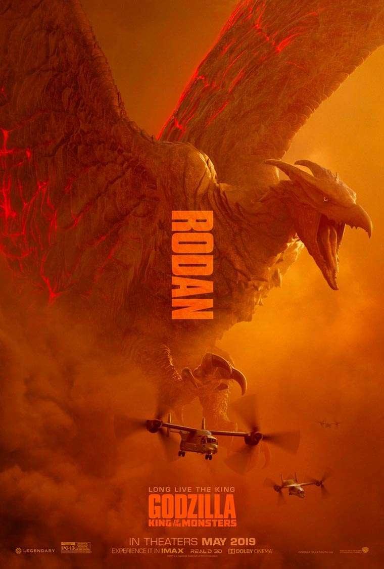 King Ghidorah, Mothra, Rodan, Godzilla: King of the Monsters
