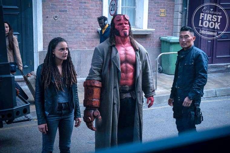 Hellboy: nueva imagen oficial