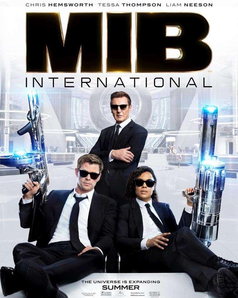 Men in Black International, trailer, poster