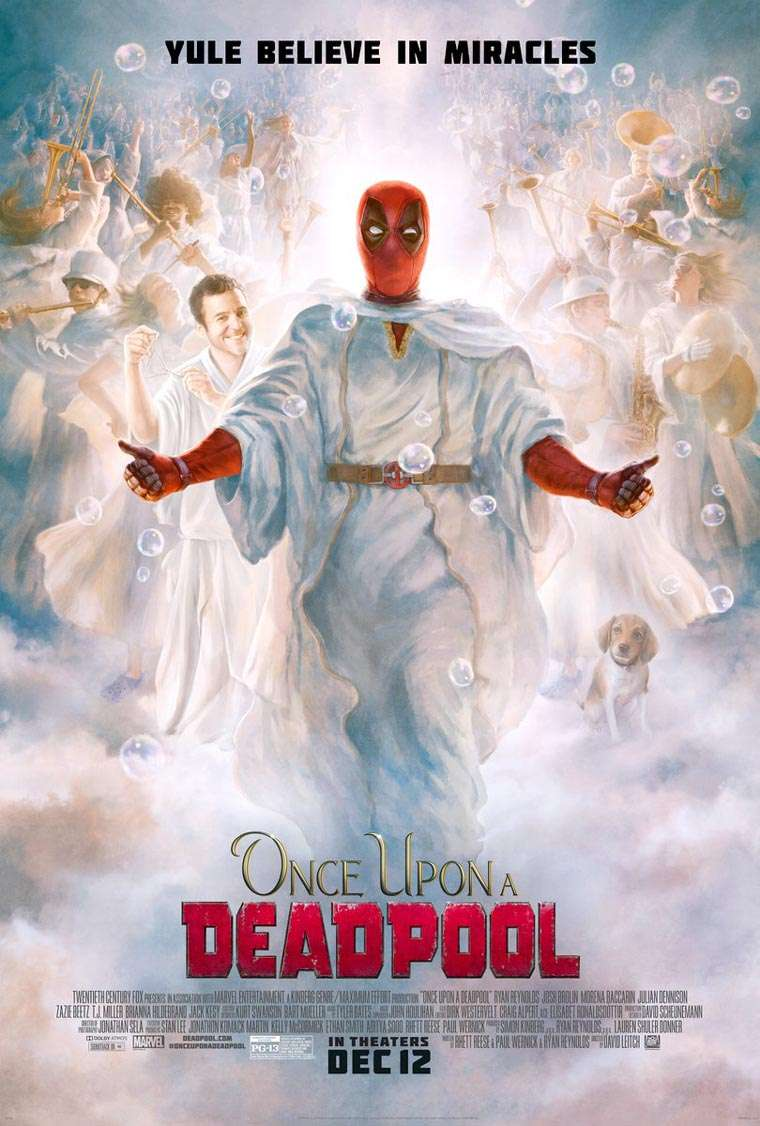 Once Upon a Deadpool, poster