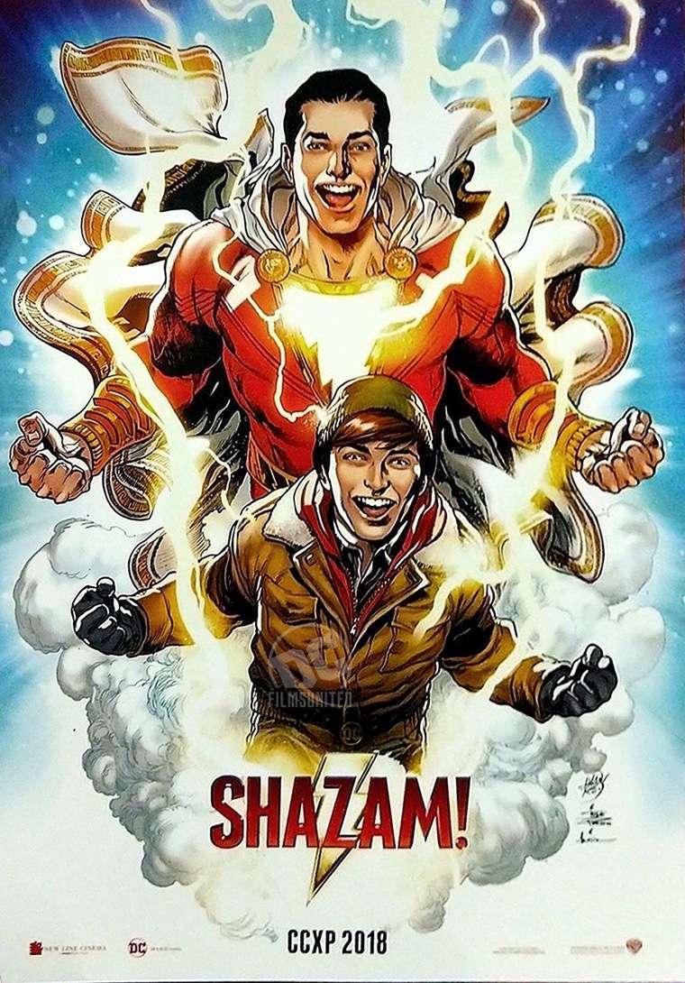 Shazam, poster