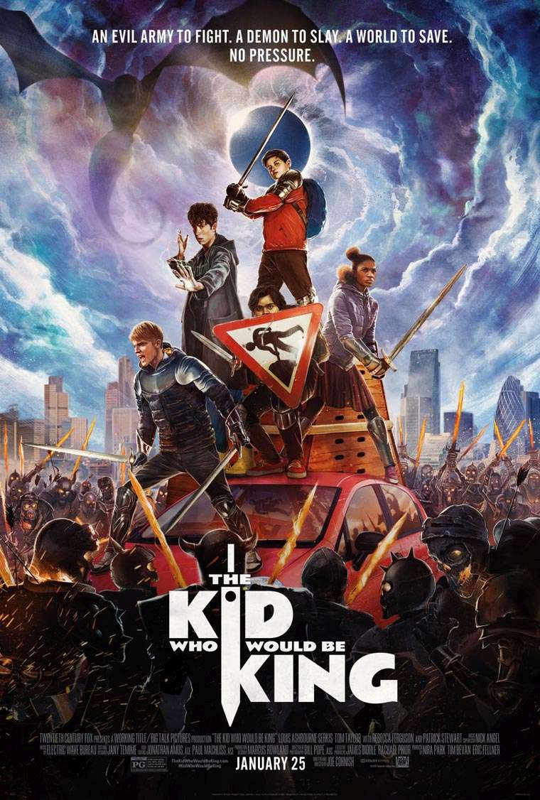 The Kid Who Would Be King, poster