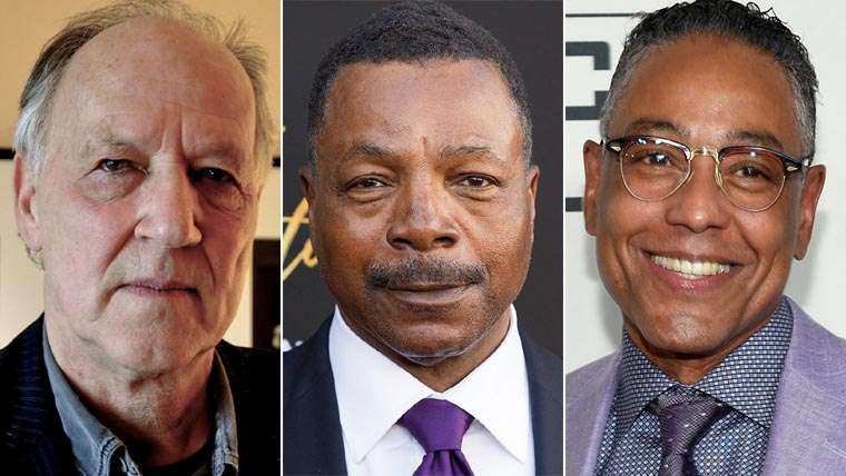 The Mandalorian, Werner Herzog, Giancarlo Esposito, Carl Weathers