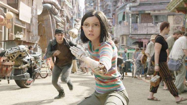 Alita: Battle Angel, James Cameron, Robert Rodriguez, movie, review, critica