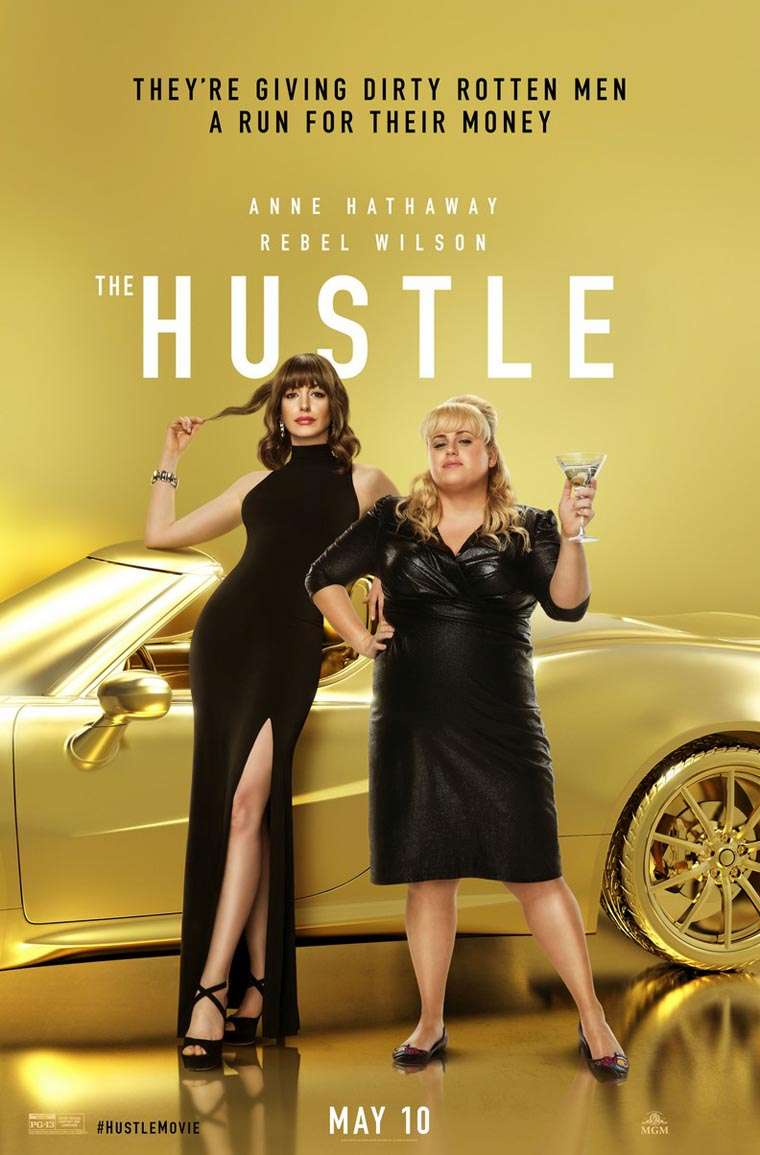 The Hustle, Anne Hathaway, Rebel Wilson