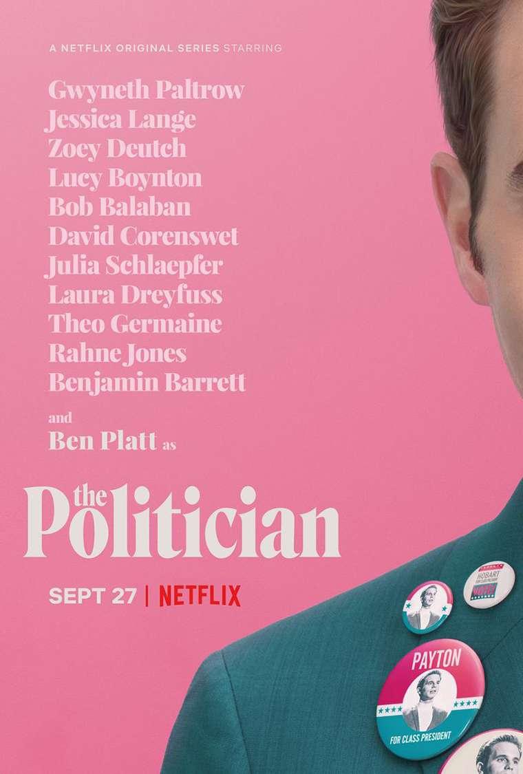 The Politician, Netflix, Ryan Murphy, serie, series, Ben Platt
