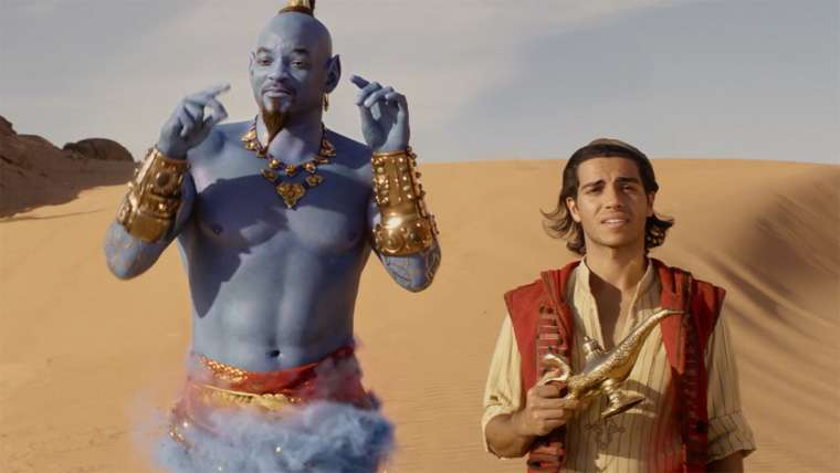 Aladdin, genie, Genio, Will Smith, Guy Ritchie, trailer, 2019, movie, live-action, poster