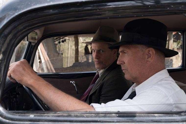 The Highwaymen, Emboscada Final, Netflix, John Lee Hancock, Bonnie and Clyde, Woody Harrelson, Kevin Costner