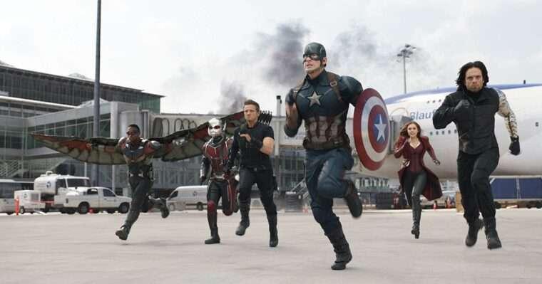 Universo Cinematográfico Marvel, Marvel, Avengers: Endgame, Fase 3, Phase 3, Captain America: Civil War