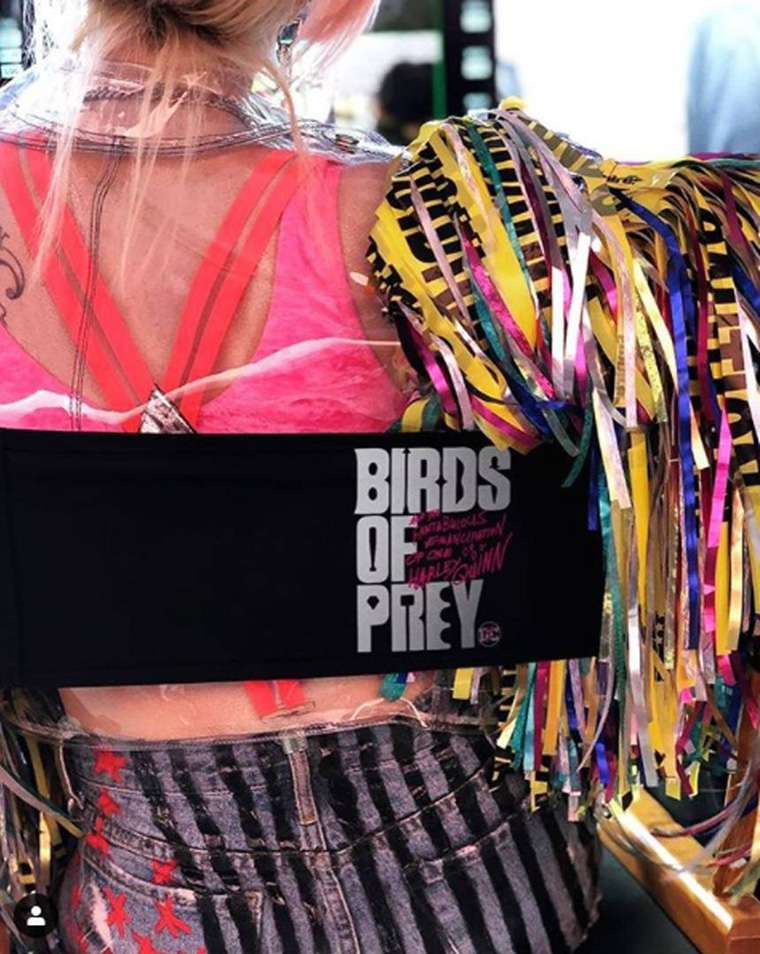 Birds of Prey, Margot Robbie, Harley Quinn, production, shooting