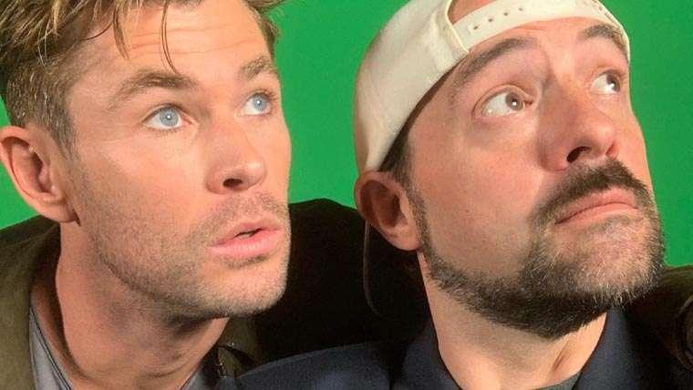 Chris Hemsworth, Jay and Silent Bob Reboot