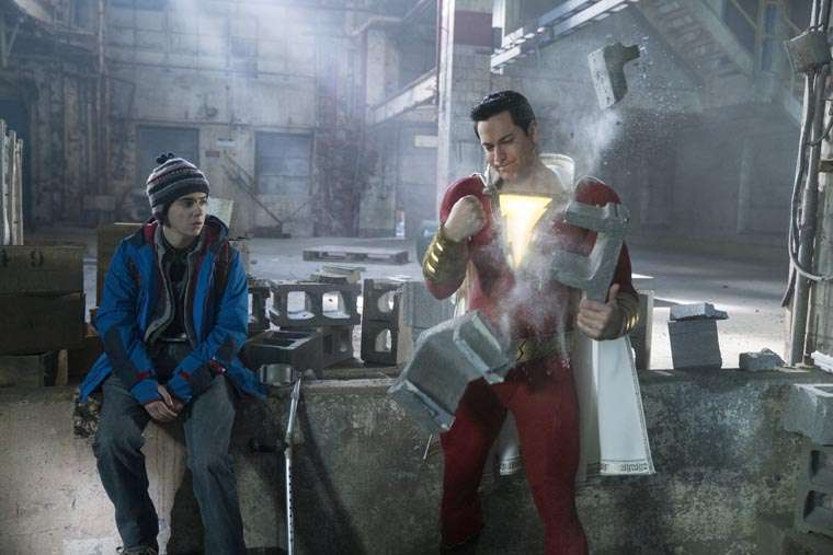 Shazam!, review, crítica, trailer, poster, Zachary Levi, David F. Sandberg, DC Comics, DC