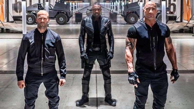 Fast & Furious Presents: Hobbs & Shaw, Luke Hobbs, Deckard Shaw, Jason Statham, Dwayne Johnson