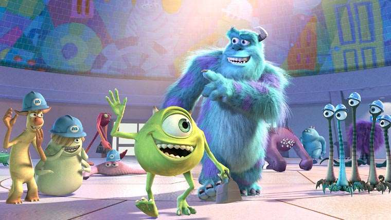 Monsters, Inc., Monsters at Work, John Goodman, Billy Cristal