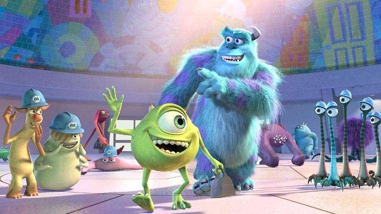 Monsters, Inc., Monsters at Work, John Goodman, Billy Cristal