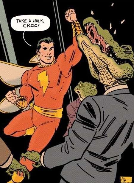 Shazam!, post créditos, post-credits, Crocodile Man