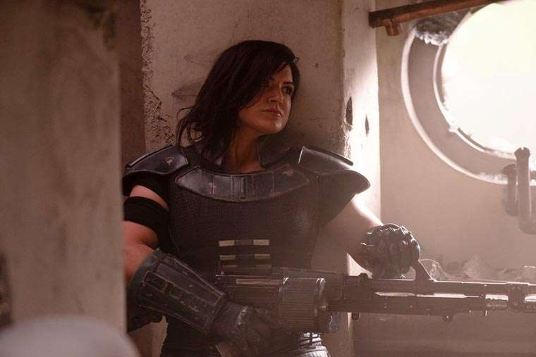 The Mandalorian, Gina Carano