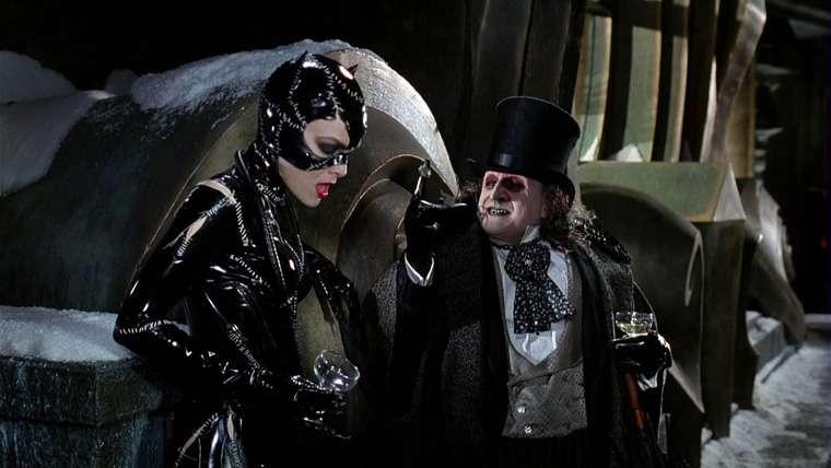 The Batman, Penguin, Catwoman
