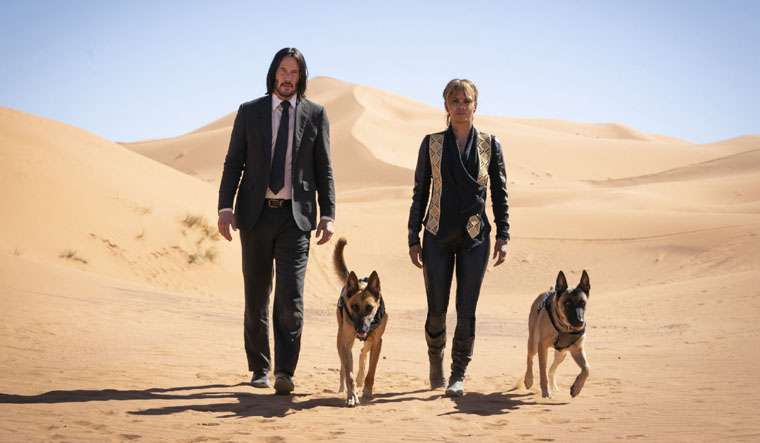 John Wick: Chapter 3 - Parabellum, Keanu Reeves, Halle Berry
