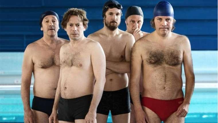 Le Grand Bain, Nadando por un sueño, Mathieu Amalric, Gilles Lellouche