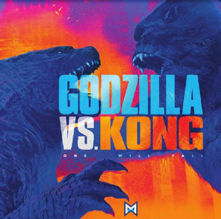 Godzilla vs. Kong, poster